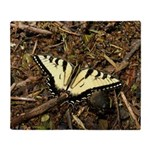 Summer Tiger Swallowtail Butterfly Throw Blanket