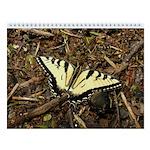 Summer Tiger Swallowtail Butterfly Wall Calendar