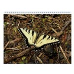 Summer Tiger Swallowtail Butterfly Wall Calendar