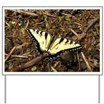 Summer Tiger Swallowtail Butterfly Yard Sign