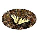 Summer Tiger Swallowtail Butterfly Sticker