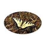 Summer Tiger Swallowtail Butterfly Wall Decal