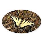 Summer Tiger Swallowtail Butterfly Sticker