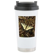 Summer Tiger Swallowtail Butterfly Travel Mug