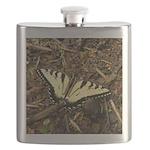 Summer Tiger Swallowtail Butterfly Flask