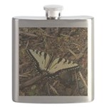 Summer Tiger Swallowtail Butterfly Flask