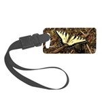 Summer Tiger Swallowtail Butterfly Luggage Tag