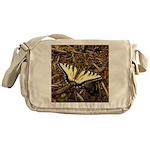 Summer Tiger Swallowtail Butterfly Messenger Bag