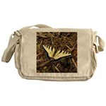 Summer Tiger Swallowtail Butterfly Messenger Bag