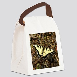 Summer Tiger Swallowtail Butterfly Canvas Lunch Ba