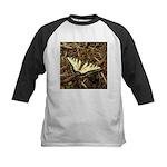 Summer Tiger Swallowtail Butterfly Baseball Jersey