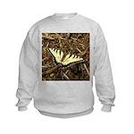 Summer Tiger Swallowtail Butterfly Sweatshirt