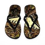 Summer Tiger Swallowtail Butterfly Flip Flops