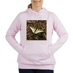 Summer Tiger Swallowtail Butterfly Women's Hooded