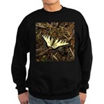 Summer Tiger Swallowtail Butterfly Sweatshirt