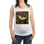 Summer Tiger Swallowtail Butterfly Maternity Tank