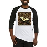 Summer Tiger Swallowtail Butterfly Baseball Jersey