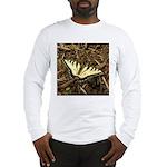 Summer Tiger Swallowtail Butterfly Long Sleeve T-S