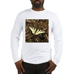 Summer Tiger Swallowtail Butterfly Long Sleeve T-S
