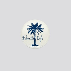 Blue Palmetto Life Mini Button