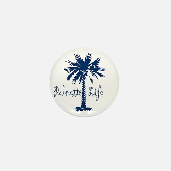 Blue Palmetto Life Mini Button