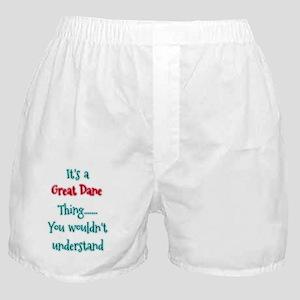 Great Dane Thing Boxer Shorts