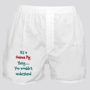 Guinea Pig Thing Boxer Shorts