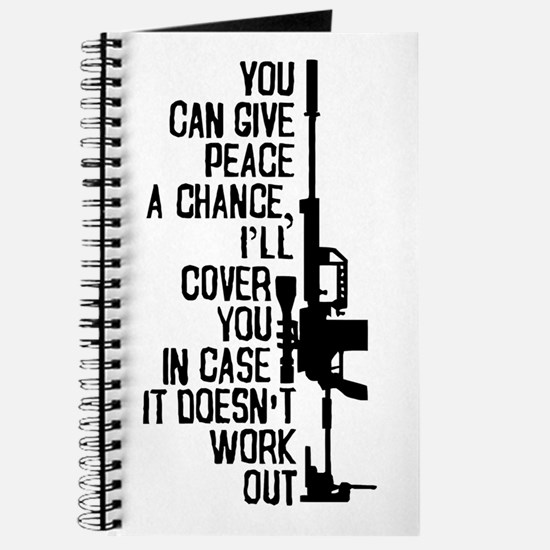 You Can Give Peace a Chance Journal
