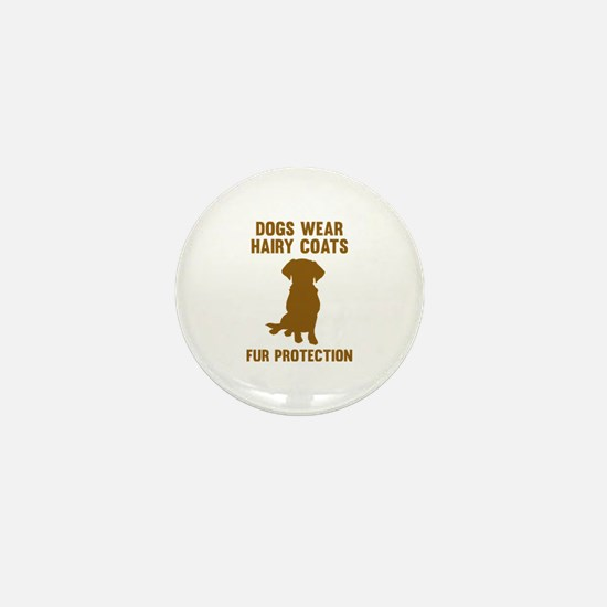 Fur Protection Mini Button