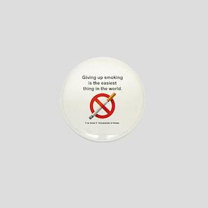 Giving Up Smoking Mini Button