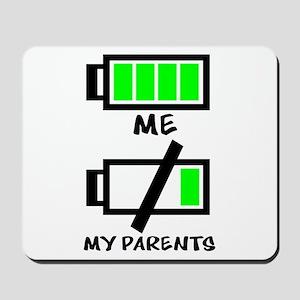 Battery Life Mousepad