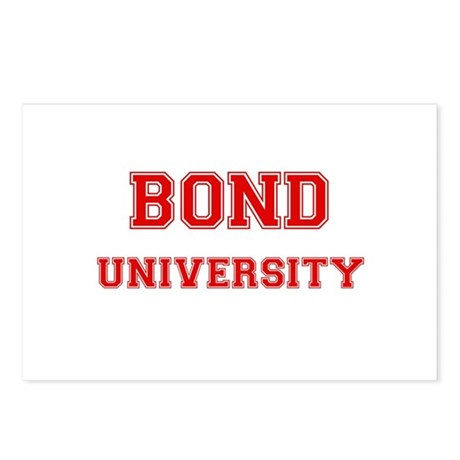 BOND UNIVERSITY Postcards (Package of 8)
