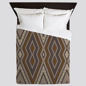 Aztec Earth Queen Duvet