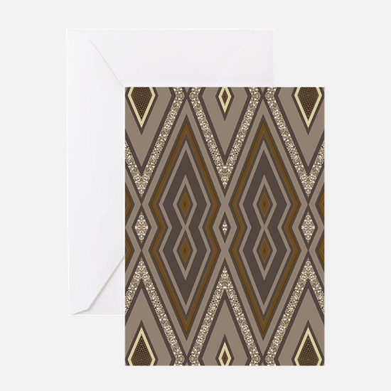 Aztec Earth Greeting Cards