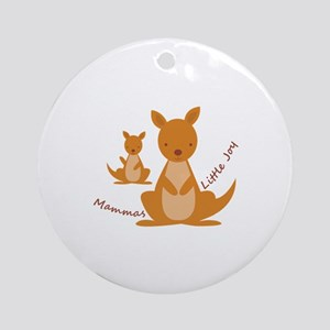 Mammas Joy Ornament (Round)