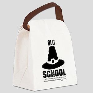 Old School Reformed Puritan Canvas Lunch Bag