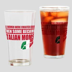 Italian Mother Drinking Glass