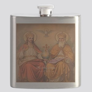 Holy Trinity Scutum Fidei Flask