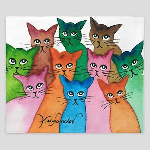 Cayo Stray Cats King Duvet