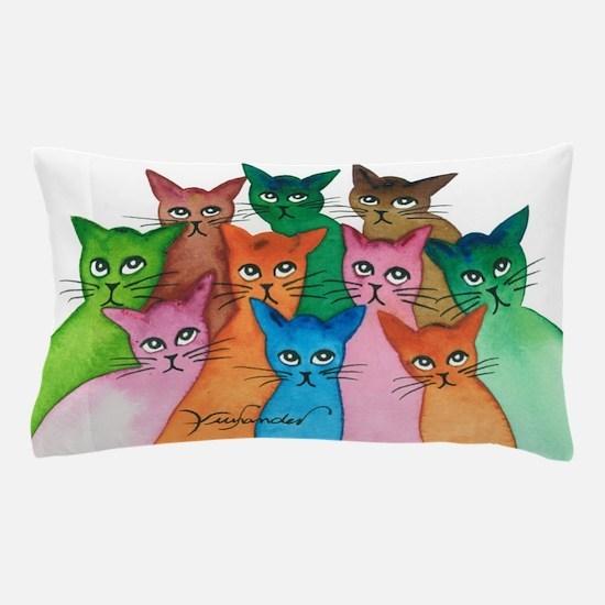 Cayo Stray Cats Pillow Case