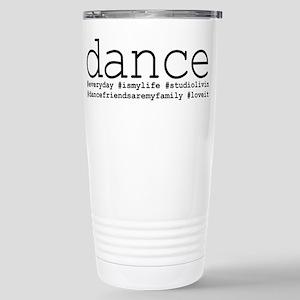 dance hashtags Stainless Steel Travel Mug