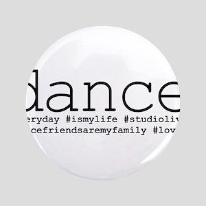 "dance hashtags 3.5"" Button"