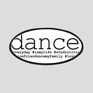 dance hashtags Patches