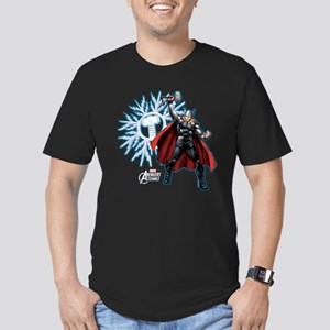 Holiday Thor Men's Fitted T-Shirt (dark)