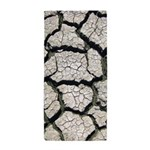 Cracked Mississippi River Beach Towel