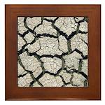 Cracked Mississippi River Framed Tile