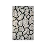 Cracked Mississippi River 3'x5' Area Rug