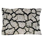 Cracked Mississippi River Pillow Case