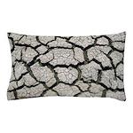 Cracked Mississippi River Pillow Case