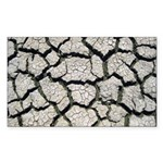 Cracked Mississippi River Sticker